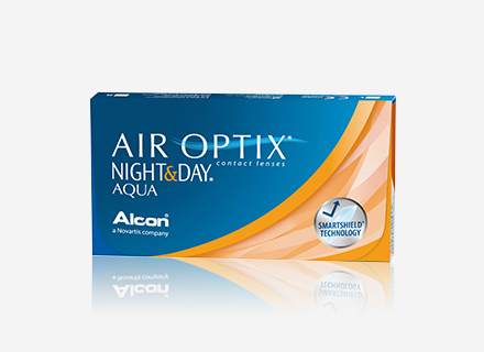 AIR OPTIX® NIGHT& DAY® AQUA